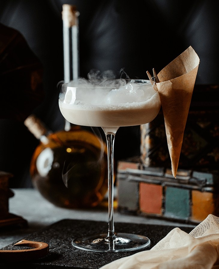 Coconut Milk Cocktail