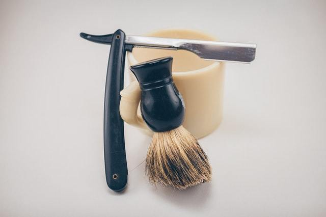 beard shaving kit